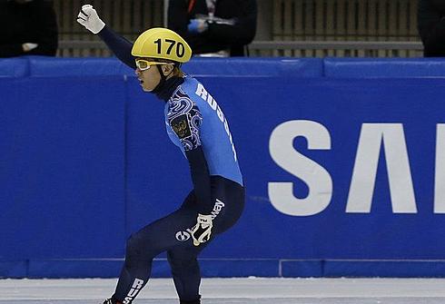 Виктор АН на этапе Кубка мира в Нагое. Фото REUTERS