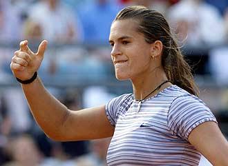 Хингис проиграла в полуфинале Моресмо Фото «СЭ»