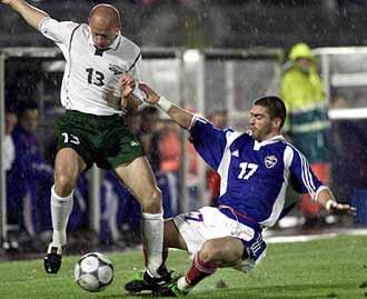 Югославия - Словения: ничья в пользу сборной России Фото «СЭ»
