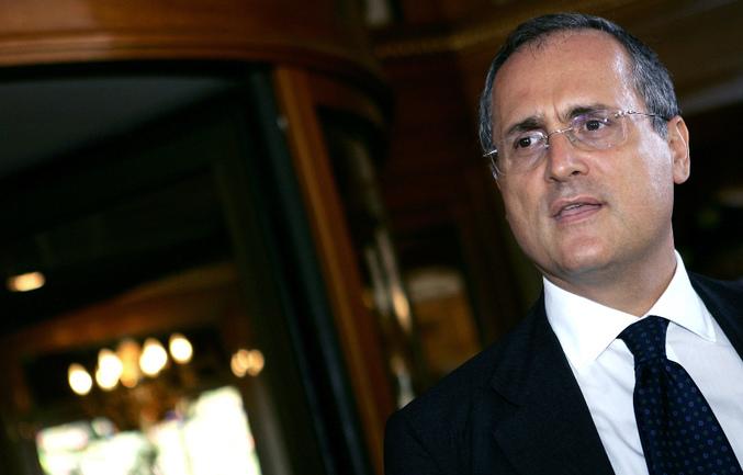 """Президент """"Лацио"""" Клаудио ЛОТИТО. Фото AFP Фото AFP"""