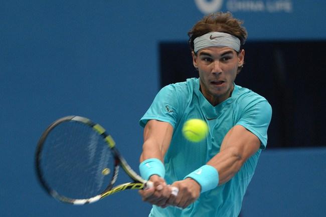 Испанский теннисист Рафаэль НАДАЛЬ. Фото AFP Фото AFP