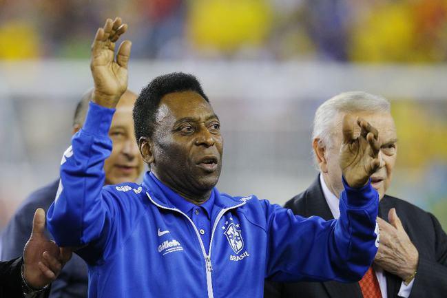 Король футбола ПЕЛЕ. Фото REUTERS Фото Reuters