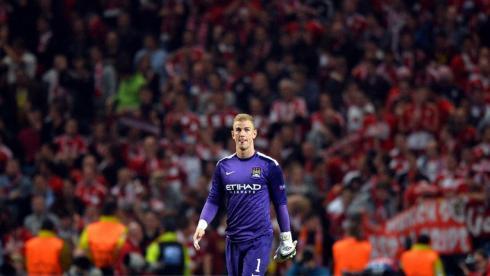 "Вратарь ""Манчестер Сити"" Джо ХАРТ. Фото AFP Фото AFP"