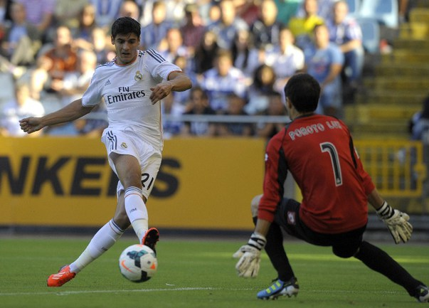 "Нападающий ""Реала"" Альваро МОРАТА. Фото AFP Фото AFP"