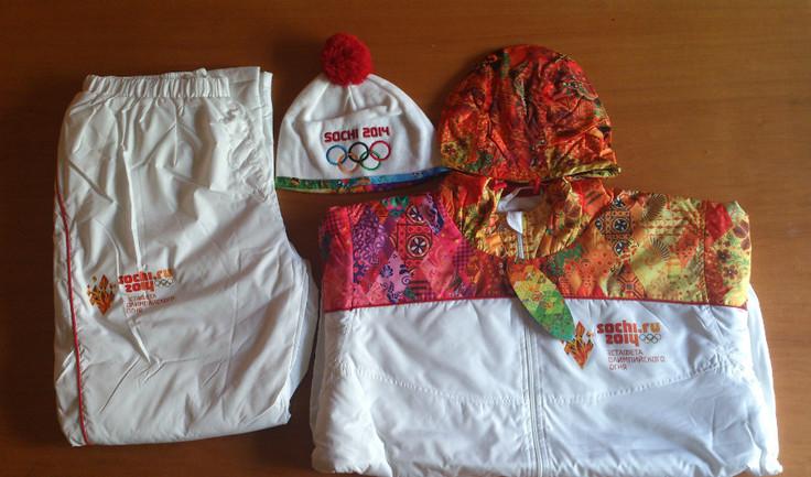 Факел Олимпиады-2014 продали за 100 000 рублей Фото ebay.com