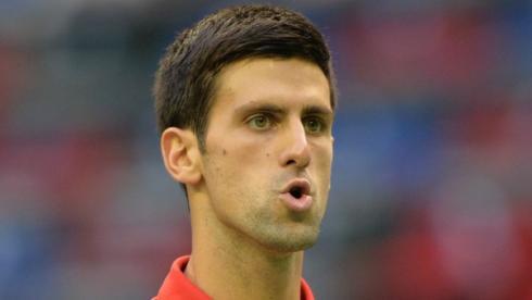 Сербский теннисист Новак ДЖОКОВИЧ. Фото AFP Фото AFP