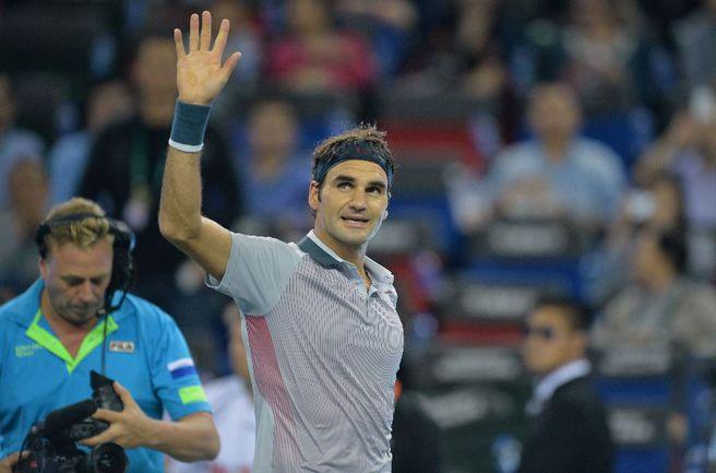 Швейцарский теннисист Роджер ФЕДЕРЕР. Фото REUTERS Фото Reuters