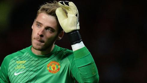 """Голкипер """"Манчестер Юнайтед """" Давид ДЕ ХЕА. Фото AFP Фото AFP"""
