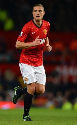 "Капитан ""Манчестер Юнайтед"" Неманья ВИДИЧ. Фото AFP"