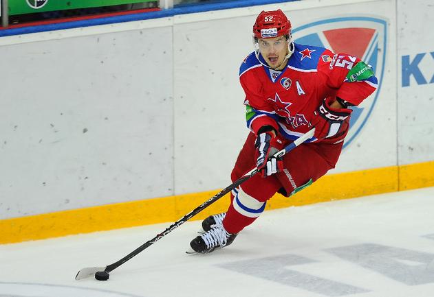 Хоккеист ЦСКА Сергей ШИРОКОВ. Фото Антон СЕРГИЕНКО, «СЭ»