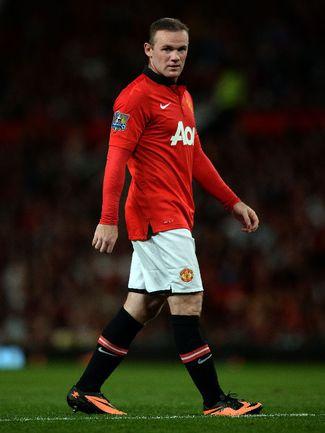 """Нападающий """"Манчестер Юнайтед"""" Уэйн РУНИ. Фото AFP"""