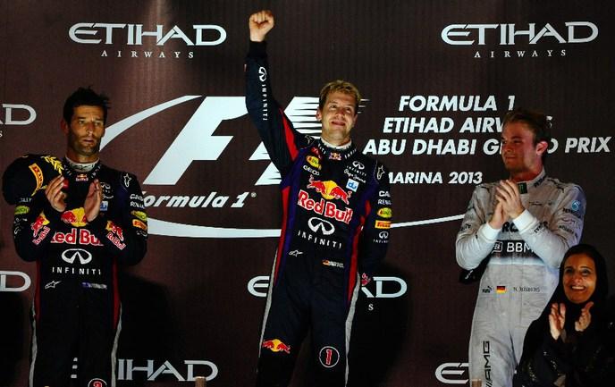 Дежурная победа Феттеля в Абу-Даби Фото «СЭ»