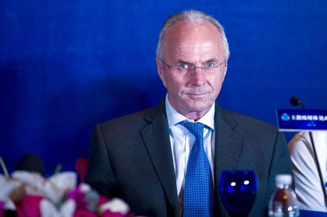 Бывший главный тренер сборной Англии Свен-Еран ЭРИКССОН. Фото AFP