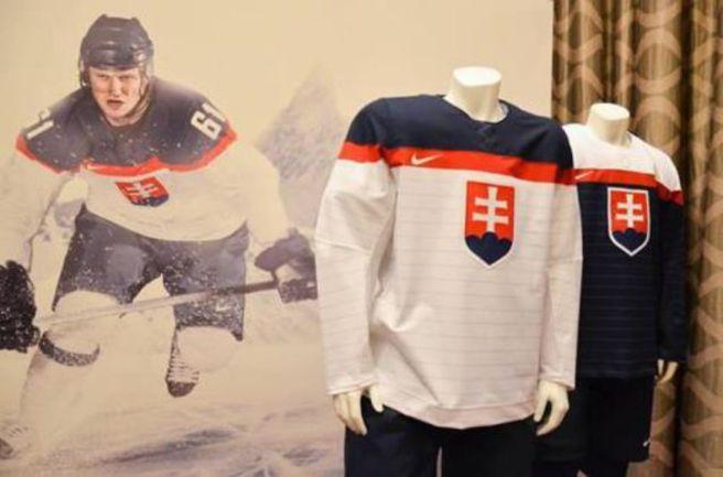 Словакия представила форму на Олимпиаду-2014 Фото «СЭ»