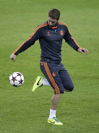 "Защитник ""Реала"" Серхио РАМОС. Фото Reuters"