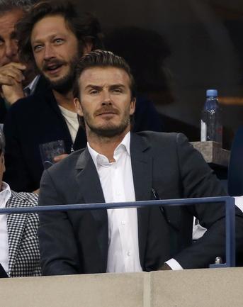 Бывший полузащитник сборной Англии Дэвид БЕКХЭМ. Фото Reuters