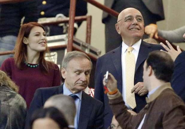 """Вице-президент """"Милана"""" Адриано ГАЛЛИАНИ. Фото Reuters"""