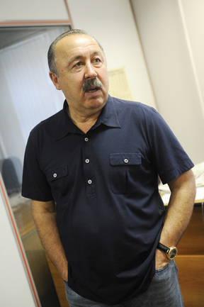 "Президент ""Алании"" Валерий ГАЗЗАЕВ. Фото Федор УСПЕНСКИЙ, «СЭ»"