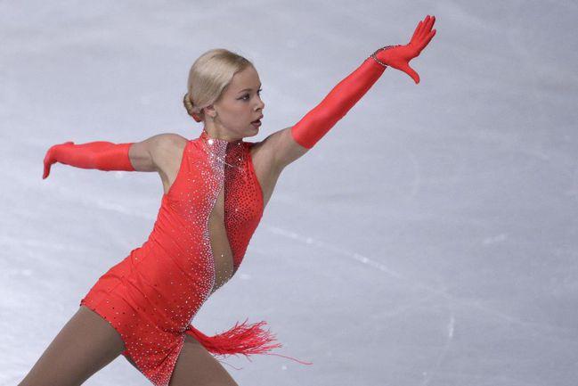 Российская фигуристка Анна ПОГОРИЛАЯ. Фото AFP Фото AFP