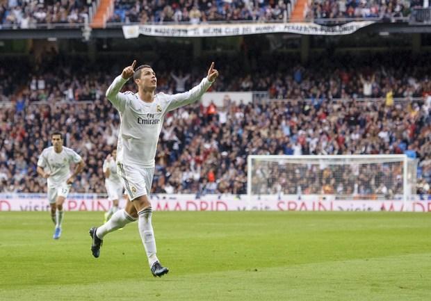 """Нападающий """"Реала"""" Криштиану РОНАЛДУ. Фото AFP"""