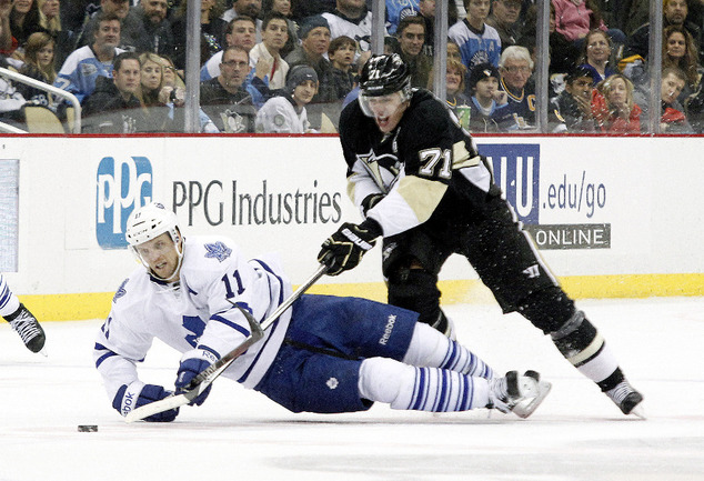 """Нападающий """"Питтсбурга"""" Евгений МАЛКИН (справа). Фото USA TODAY Sports"""
