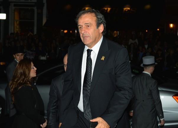 Сегодня. Монако. Президент УЕФА Мишель ПЛАТИНИ. Фото Reuters