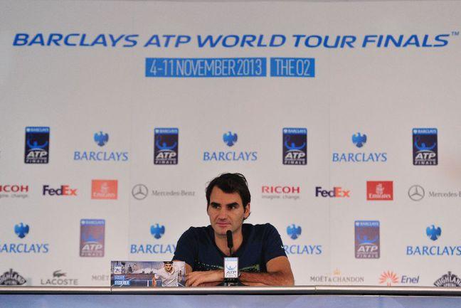 Швейцарский теннисист Роджер ФЕДЕРЕР. Фото AFP