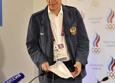 Президент Олимпийского комитета России Александр ЖУКОВ. Фото Алексей ИВАНОВ, «СЭ»