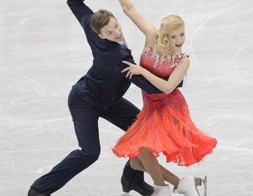 Боброва и Соловьев выиграли короткий танец на чемпионате России