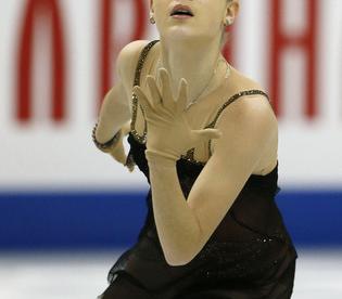 Трехкратная чемпионка России Аделина СОТНИКОВА. Фото AFP
