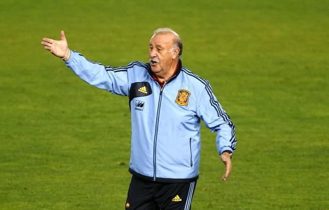 Главный тренер сборной Испании Висенте дель БОСКЕ. Фото AFP