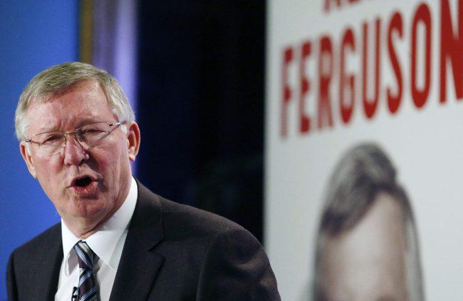 """Бывший главный тренер """"Манчестер Юнайтед"""" Алекс ФЕРГЮСОН. Фото Reuters"""
