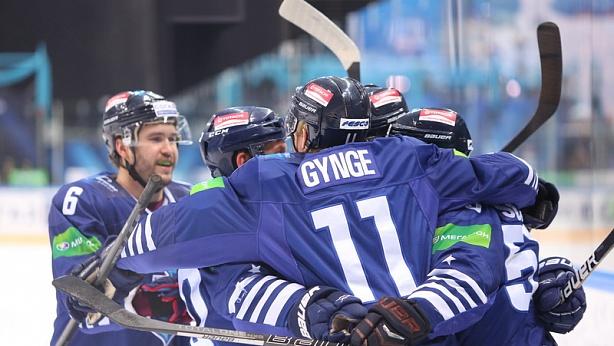 """Хоккеисты """"Адмирала"""" сумели добиться победы над СКА. Фото hcadmiral.ru"""