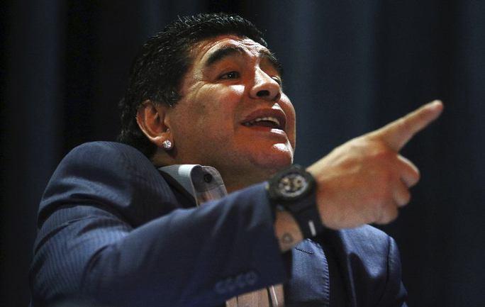 Легенда мирового футбола Диего МАРАДОНА. Фото Reuters