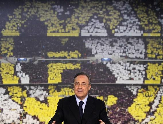 """Президент """"Реала"""" Флорентино ПЕРЕС. Фото AFP"""