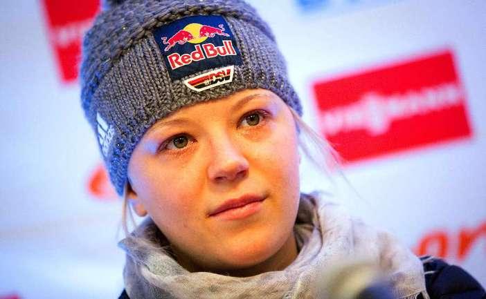 Немецкая биатлонистка Мириам ГЕССНЕР. Фото AFP