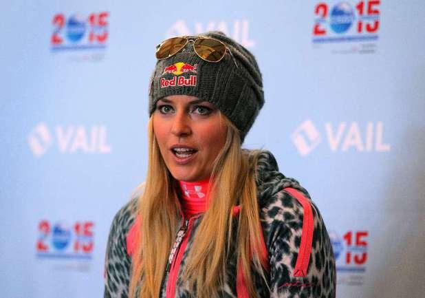 Олимпийская чемпионка Линдси ВОНН. Фото AFP