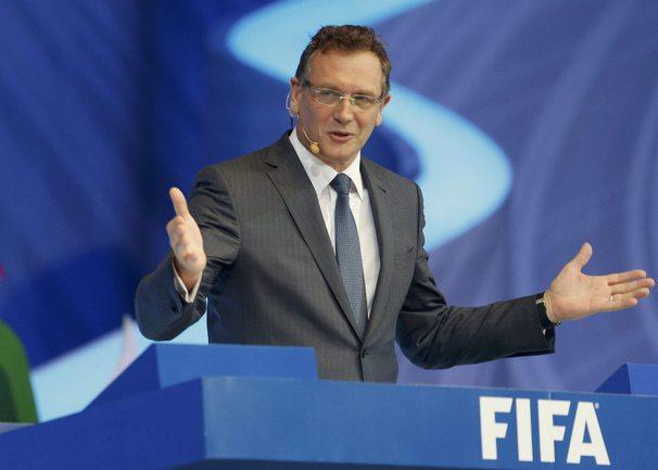 Генеральный секретарь ФИФА Жером ВАЛЬКЕ. Фото Reuters