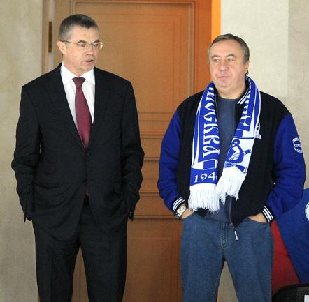 Президент КХЛ Александр МЕДВЕДЕВ. Фото Татьяна ДОРОГУТИНА, «СЭ»