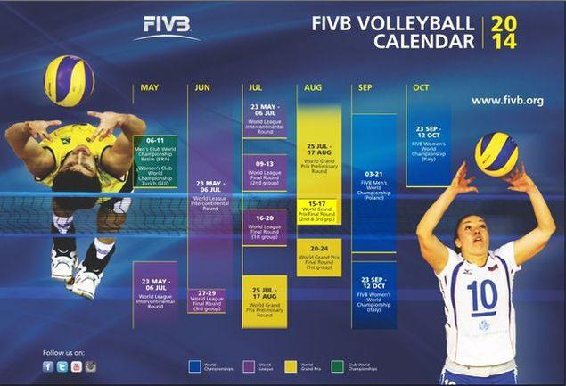 Панкова - лицо официального календаря ФИВБ Фото «СЭ»
