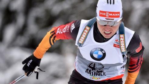 Хенкель выиграла гонку преследования в Антерсельве, Вилухина - 16-я