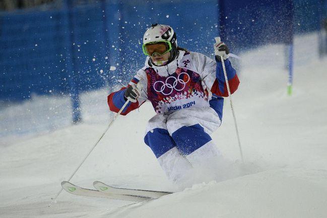 Россиянка Екатерина СТОЛЯРОВА. Фото AFP