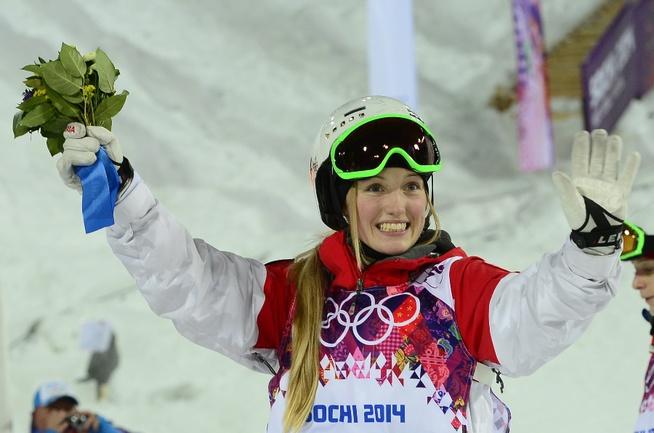 Сегодня. Сочи. Жюстин ДЮФУР-ЛАПУАНТ - олимпийская чемпионка. Фото AFP