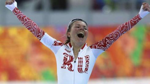 Граф принесла первую медаль России на Олимпиаде в Сочи
