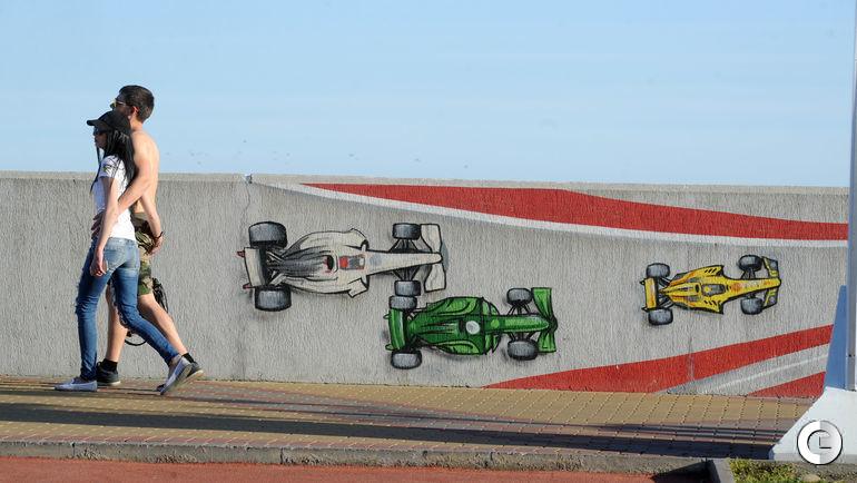 Сегодня. Сочи. Граффити на улицах города-курорта.