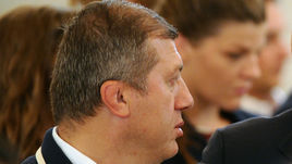 Джамболат ТЕДЕЕВ и президент ФСБР Михаил МАМИАШВИЛИ.