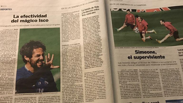 Испанская спортивная пресса
