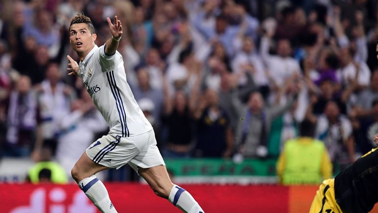"""Вторник. Мадрид. """"Атлетико"""" - """"Реал"""" - 0:3. КРИШТИАНУ РОНАЛДУ. Фото AFP"""