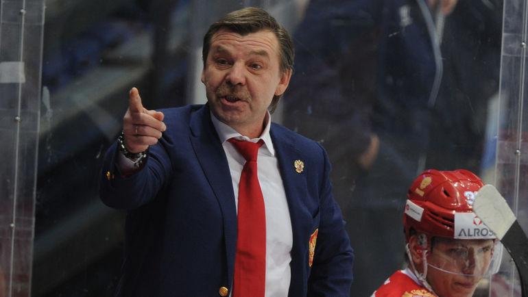 Олег ЗНАРОК уже имеет под рукой пятерку игроков НХЛ. Фото Александр ФЕДОРОВ, AFP