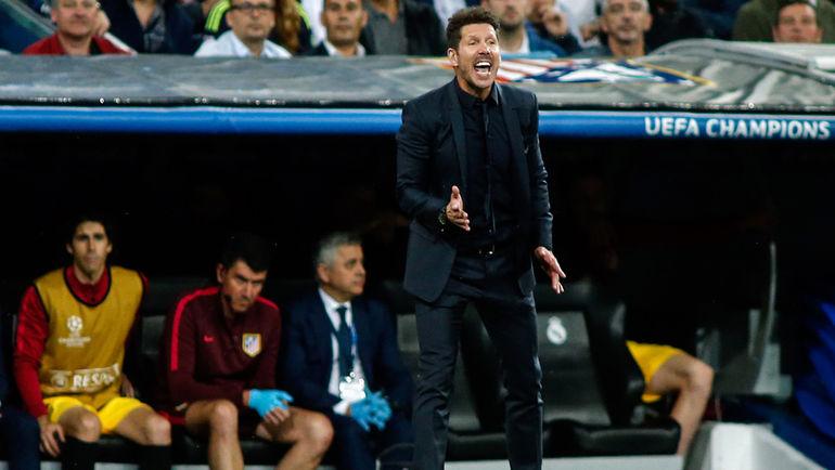 """""""Атлетико"""" Диего СИМЕОНЕ - заложник собственного стиля. Фото Reuters"""